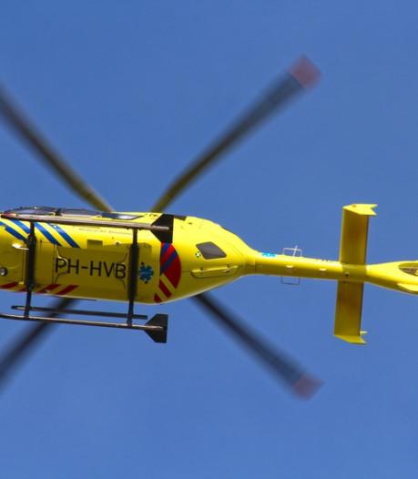 Traumahelikopter naar ongeval op A50 bij Nistelrode