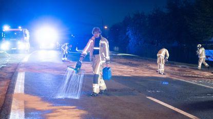Steenweg op Aalst in Elene afgesloten voor alle verkeer na verkeersongeval