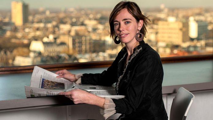 Chef economie van het AD, Sandra Phlippen.