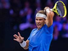 Nadal vergroot voorsprong Team Europa in strijd om Laver Cup