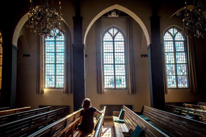 Niet zingen maar neuriën met de gezangen en psalmen, in de Randwijkse hervormde kerk