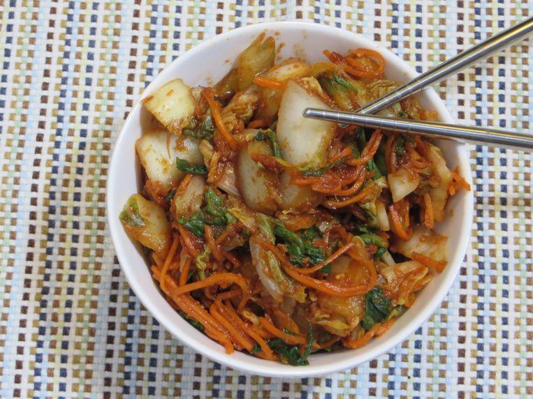 Koreaanse kimchi Beeld Loethe Olthuis