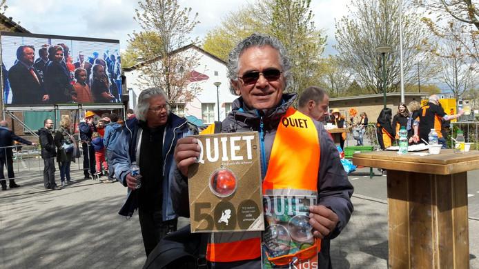 Eric Rugebregt uit Tilburg, gezicht van de eerste armoedeglossy Quiet500
