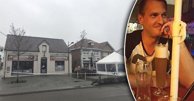 Tom Schouteden (39) kwam om het leven bij een caféruzie tijdens de ouderjaarsnacht. Hij is de papa van een achtjarige leerlinge van lagere school 'De Vlieger'.