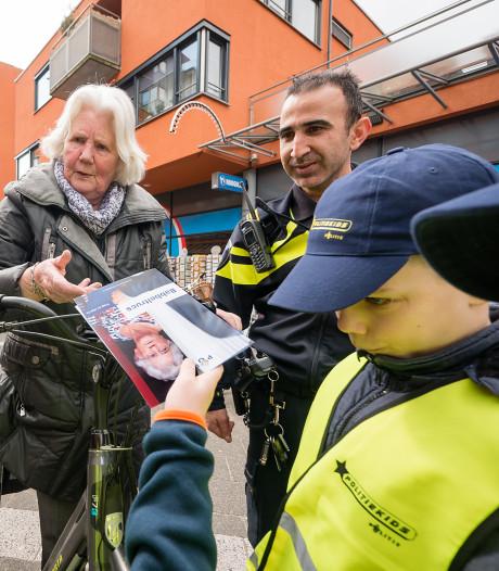 In Boskoop gaan scholieren de politie helpen