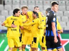 Bruges prend l'eau face à Dortmund et concède sa première défaite en C1