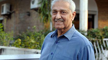 'Vader van de Pakistaanse atoombom' kon zijn kennis ongestoord in België komen opdoen