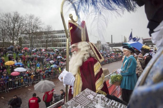 De Arnhemse sinterklaasintocht in 2015.