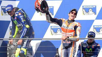 Marquez ruikt MotoGP-titel na winst in Australië