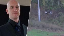 Vermiste man zit hele week in auto die in afgrond reed
