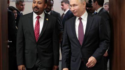 Poetin wil handel met Afrika komende vijf jaar verdubbelen
