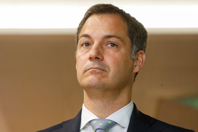 Alexander De Croo,  ministre des Finances.