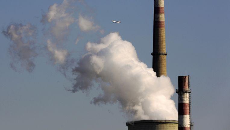 Een steenkoolcentrale in China: de patstelling tussen de geïndustrialiseerde wereld en groeilanden kon ook in Lima nog niet worden doorbroken.