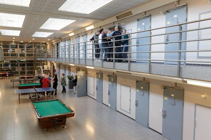 Foto ter illustratie is genomen tijdens een rondleiding op een Open dag van Penitentiaire Inrichting (PI) Achterhoek door celblok A.