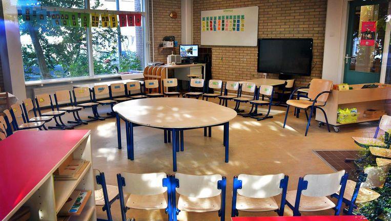 Een optie is om basisscholen een week lang dicht te houden Beeld anp