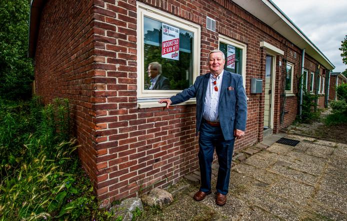 Wielewaaler Wil de Ben verzet zich fel tegen de sloopplannen van Woonstad en ontwikkelaar BPD van zijn wijk in Rotterdam-Charlois.