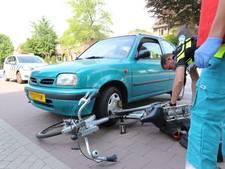 Aanrijding tussen automobilist en fietsster in Eersel, vrouw naar het ziekenhuis