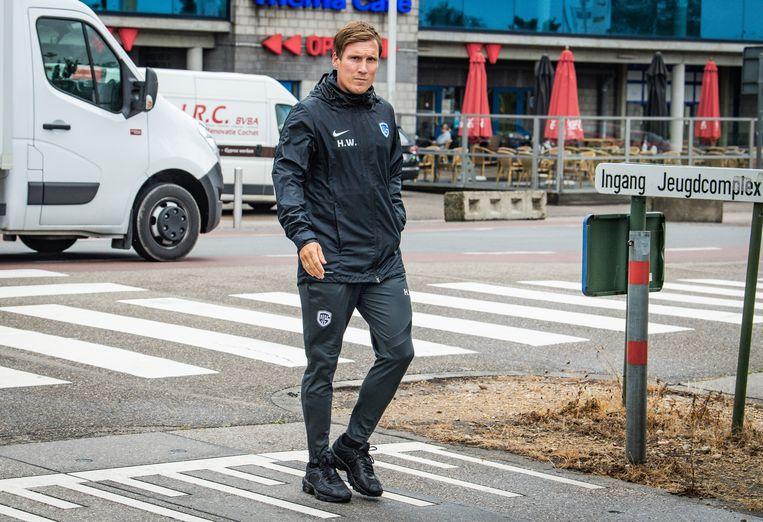 Trainer Hannes Wolf.