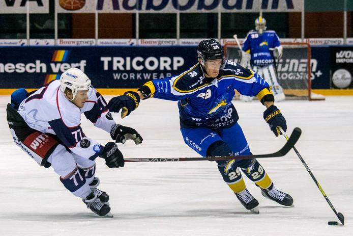 Brock Montgomery is op tijd fit voor het duel met Eisbären Regensburg woensdagavond.