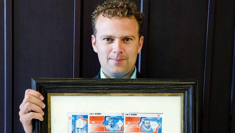Ferdi Roet, oprichter van stichting Loterijverlies. Beeld Olaf Kraak