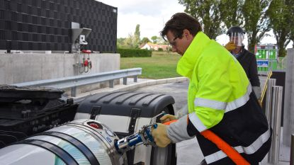 Eerste LNG-station van Pitpoint in België in Rekkem