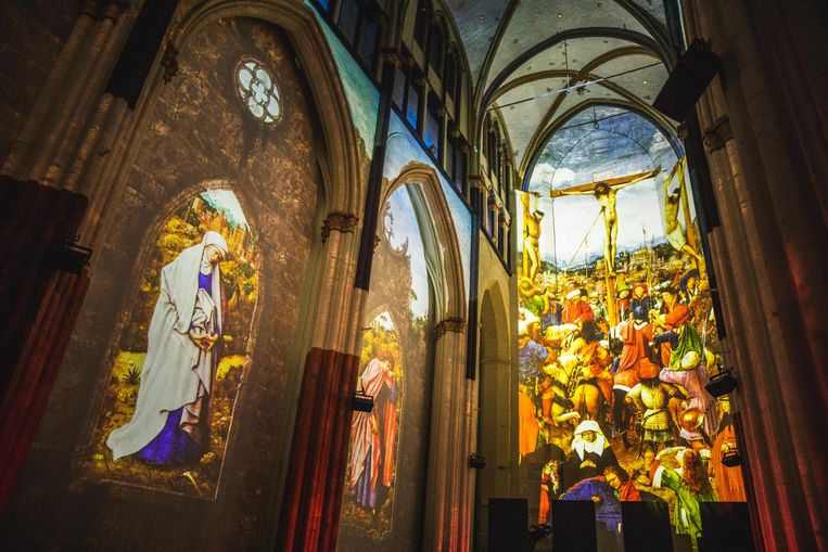 Lights on Van Eyck, Sint-Niklaaskerk