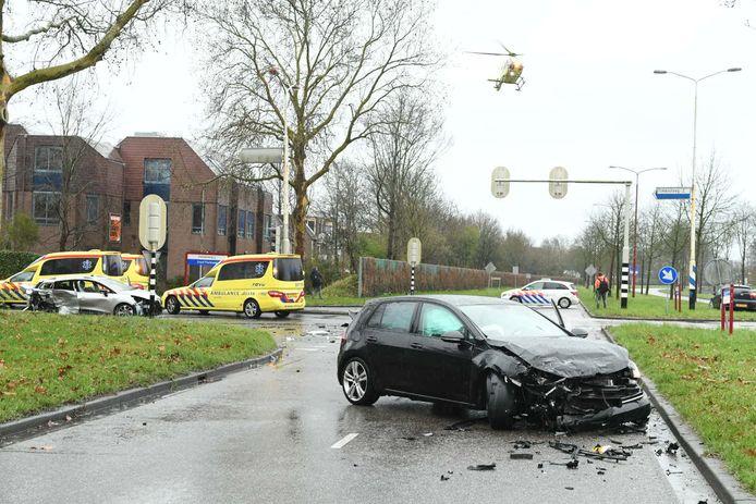 Op de 's-Gravenhoutseweg in Nieuwegein is een ernstig ongeval gebeurd.