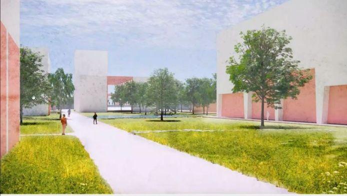 Impressie van nieuwbouw Nibb-it Breda.