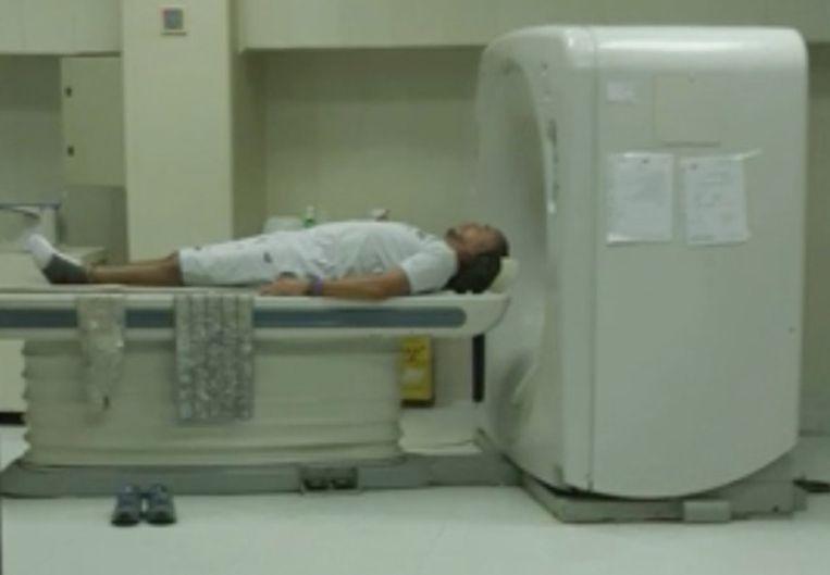 De Belg onderging al verschillende onderzoeken in een ziekenhuis in Egypte.