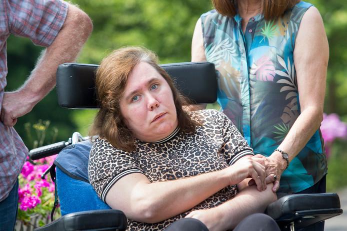 Lisa verkeert al zeven jaar in een toestand van verminderd bewustzijn.