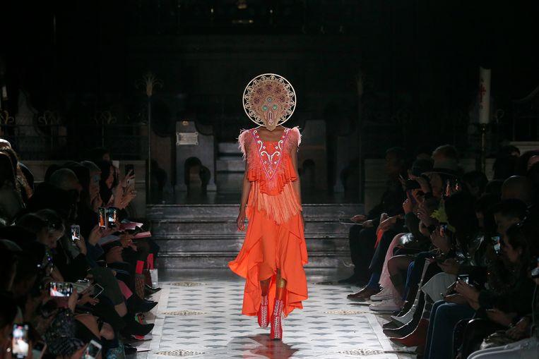 De Manish Arora Show in Parijs.  Beeld Getty Images