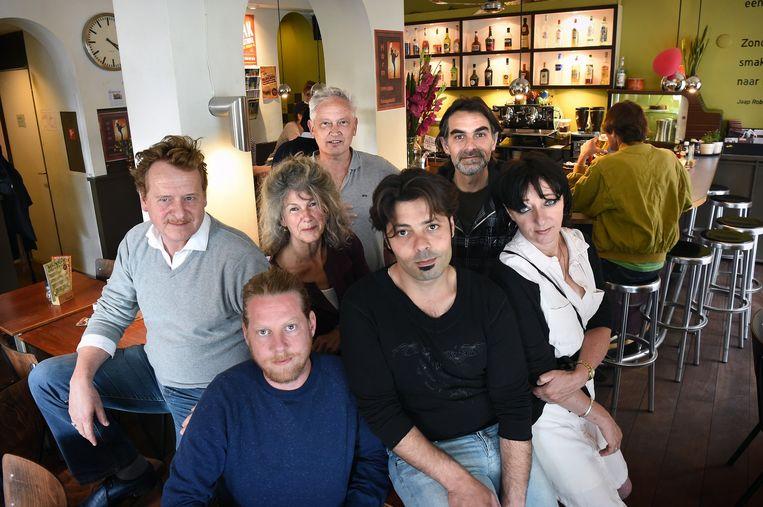 Café De Plak. Beeld Marcel van den Bergh / de Volkskrant