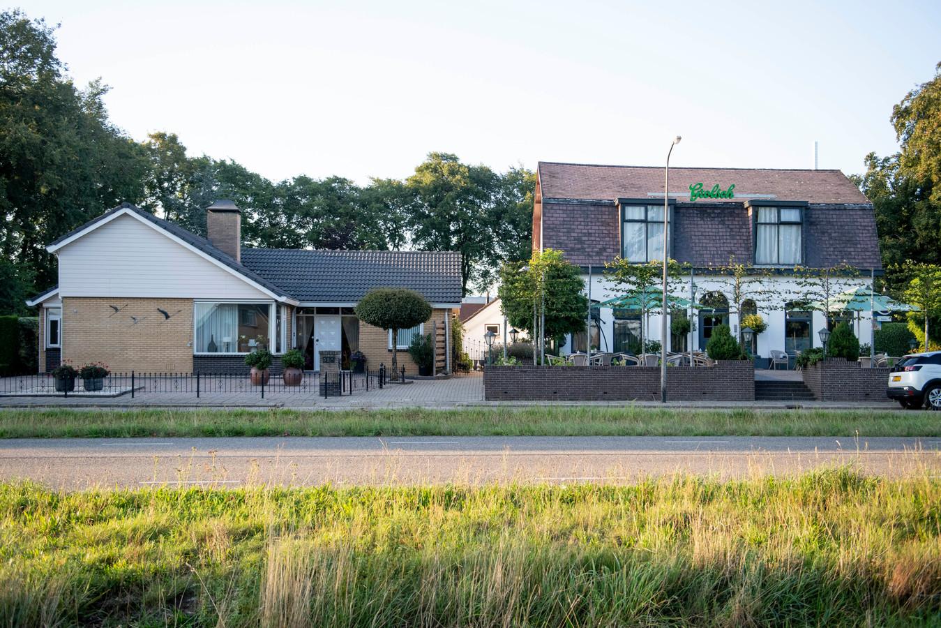 De eigenaren van d'Olde Stee in Lutten liggen in de clinch met de buren.