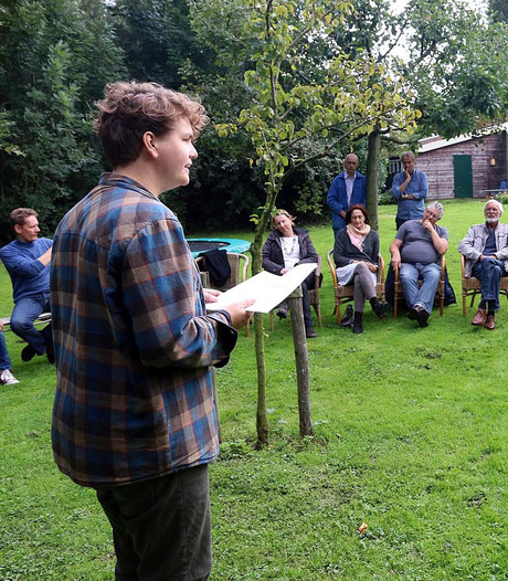 Vier dichters bij festival