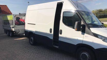 Opnieuw duizenden euro's aan materiaal gestolen bij nieuwe inbraak in bestelwagen