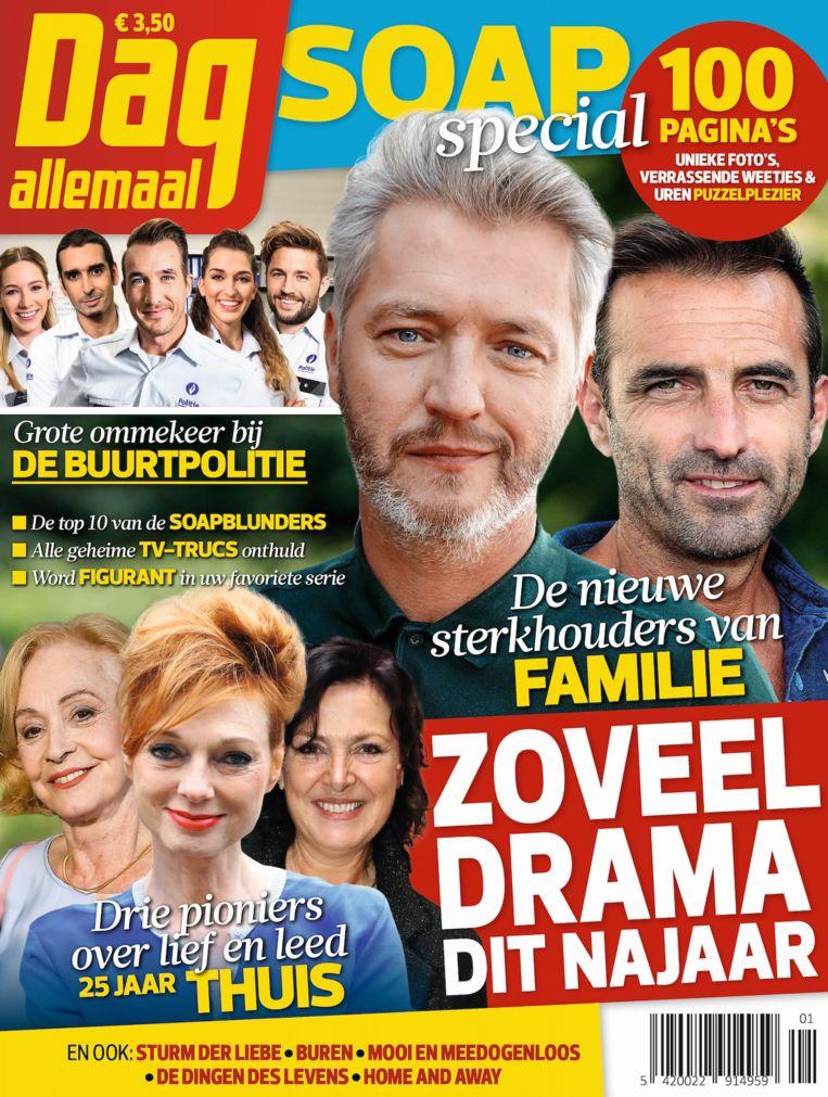 De cover van de soapspecial.