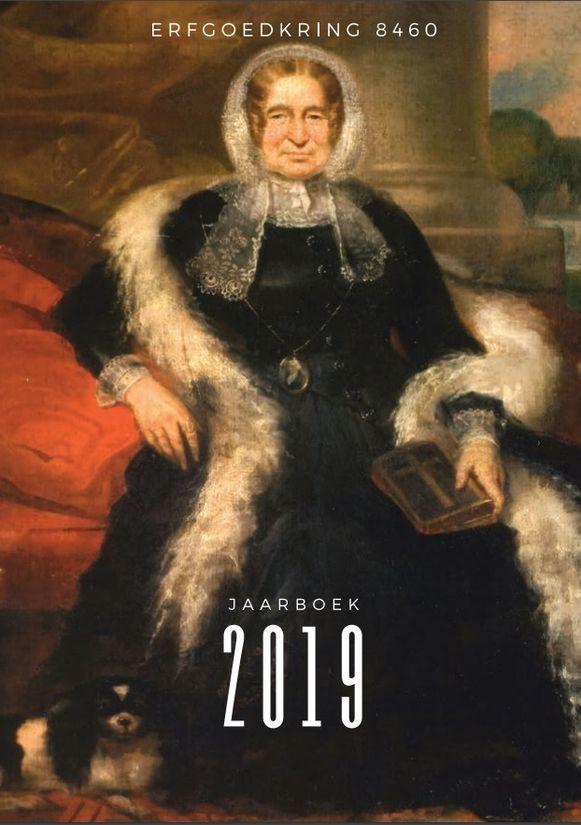 OUDENBURG - De cover van het jaarboek 2019 van Erfgoedkring 8460