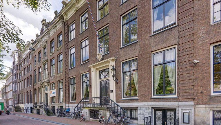 Dit grachtenpand is een van de duurste Amsterdamse huizen ooit op Funda. Beeld Funda