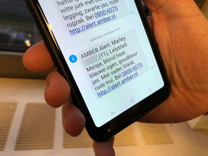 Voor een vermist 11-jarig meisje uit Lelystad werd vandaag een Amber Alert verspreid.