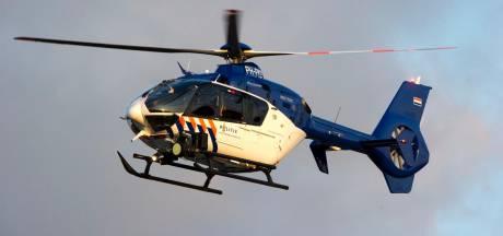 Politiehelikopter zoekt tevergeefs boven Waalwijk naar inbrekers