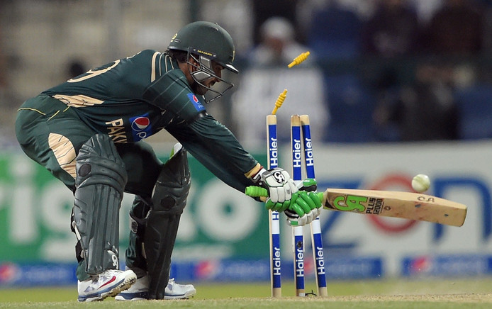 De Pakistaanse cricketer Haris Sohail.