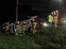 Taakstraf voor in slaap gesukkelde bestuurder die ongeluk op A28 bij Nijkerk veroorzaakte