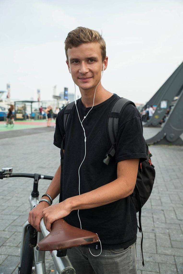 Jeroen Wolf (19) Beeld Charlotte Odijk