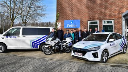 Politiezone Hamme/Waasmunster neemt eerste elektrische wagen in gebruik