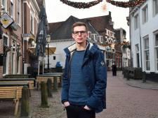 Mannen sloegen Amersfoorter Brian (23) gebroken jukbeen en tanden uit zijn mond, nu is hij op zoek naar de daders