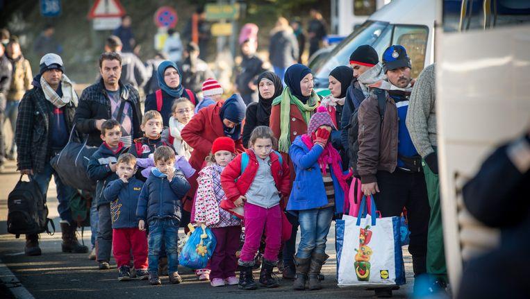 Vluchtelingen in Duitsland Beeld epa