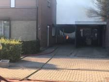 Brand verwoest schuur bij woning in Gendringen