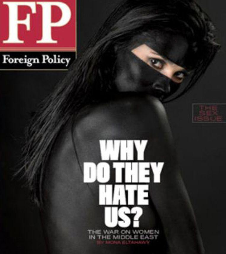 De cover van Foreign Policy Beeld