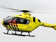Motorrijder gewond bij botsing op A6
