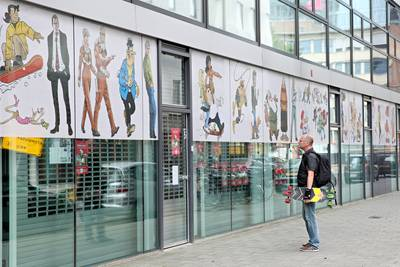 Failliete stripmuseum mag geld vragen voor teruggeven strips